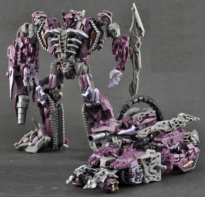 """Transformers 3 Dark of the Moon Decepticons Voyager Shockwave 7"""" Action Figure"""