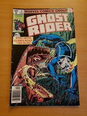 Ghost Rider #51 ~ VERY FINE VF ~ (Dec 1980, Marvel Comics)
