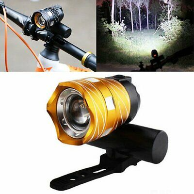 USB Rechargeable XML T6 LED Bicycle Bike Front Light Cycling Head Lamp SG4