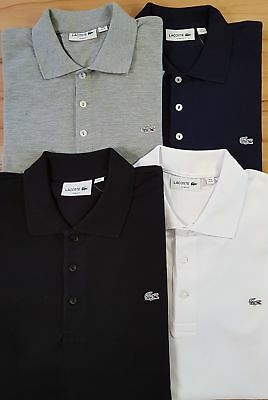 LACOSTE Polo Shirt SILVER EDITION Slim Fit Lacoste Stretch