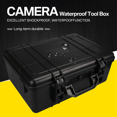 Waterproof Large Storage Carry Hard Box Case Box for Flight DSLR HD Camera
