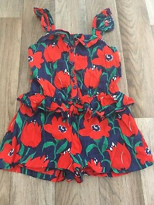 Girls Next Floral Romper Suit Size 2-3 Years