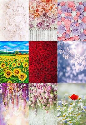 Flower Wall Wall Backdrop Party Decorative Photo Studio Background 3x5ft 5x7ft