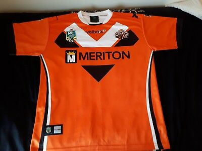 Wests Tigers shirt size XL NRL by Xblades
