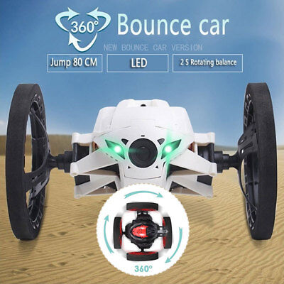 Parrot Jumping Race Mini Drone Wi-Fi Controlled RC Vehicle w/ Camera & Speaker.