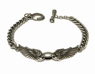 KING BABY Wingspan Armband 925 Sterling Silber NP: 580,-