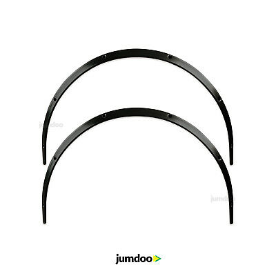 Universal JDM Fender flares overwide body wheel arches ABS 30mm 2pcs