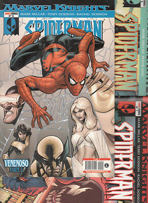 SPIDERMAN KNIGHTS  Nºs. 6. 7. 8. 9.. ( LOTE 4 NUMEROS ) FORUM.MUY BUEN ESTADO.