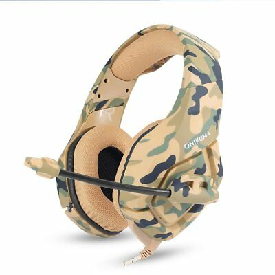 ONIKUMA K1 3.5mm Mic Stereo Gaming Headset Headphone for PC Laptop PS4 Xbox One
