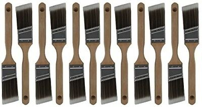 12 Piece 1-1/2 Angle Durable Paint Brush Professional Residential Painters