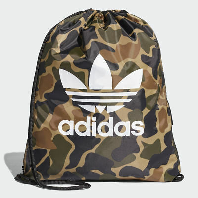 Adidas Originals Camouflage String Bag Trefoil Gym Bag Gym-sack - CD6099