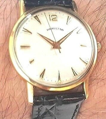 Hamilton Vintage 1950's Manual Wind Pre-Owned Mens Watch....Serviced....32mm