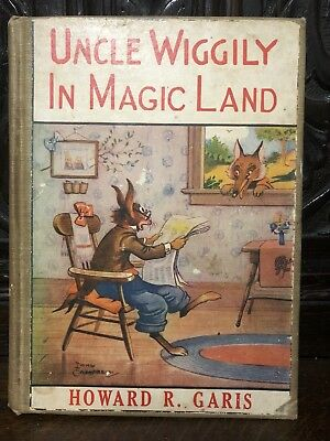 Uncle Wiggily In Magic Land by Garis 1924 - Rare Children's book, great cond