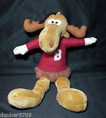 Bullwinkle J. Moose 1991 Ward Productions Inc Plush Toy 16 Inches Tall