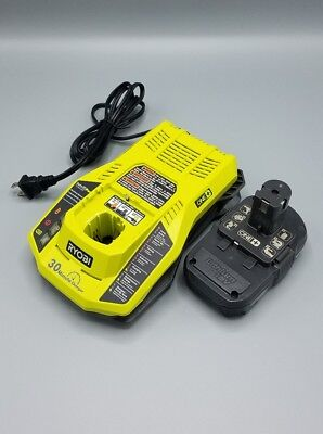 Ryobi 18V Lithium-Ion Battery & Charger Upgrade Kit P128. Free Shipping