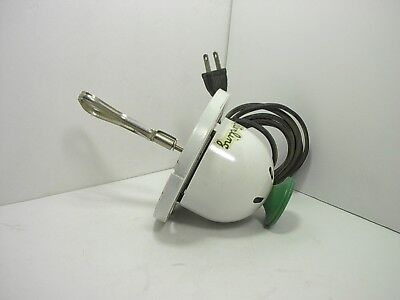 Vintage Sterling Electric Kitchen Food Mixer~ Working ~Green Wood Handle