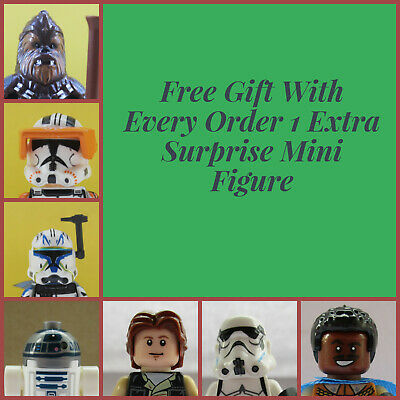 Star Wars Kylo Ren Mini Figures fit lego Trooper Storm Han Solo Leia Darth Vader