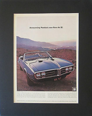 1968 68 RAM Air Ii Gto Firebird Raii 96 Roundport 400