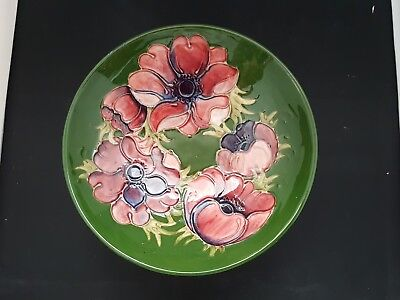Old Moorcroft Pedestal Bowl*signed Wm To Base.