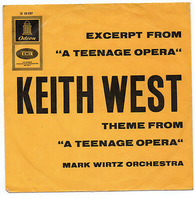 "Keith West - Excerpt From ""A Teenage Opera"" - Vinyl-Single 7"""