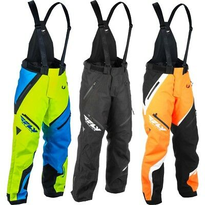 Fly Racing SNX Pro S18 Insulated Mens Warm Insulated Winter Tall Snowmobile Pant