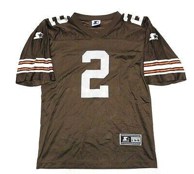 NFL STARTER Tim Couch  2 Cleveland Browns Football Jersey Youth Size Large  14-16 3381efaee