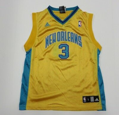 competitive price 59a5b f53a9 good chris paul yellow nola jersey 2ca86 a3612