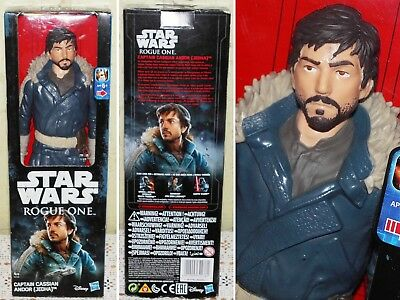 Star Wars Rogue One Captain Cassian Andor (Jedha) Figur / Statue NEU in OVP