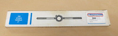 """Irwin 12428 1/"""" Round Adjustable Guide Die Stock Holder Handle USA Made DS-28"""