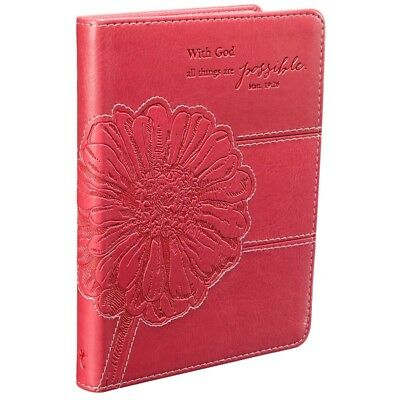 Christian Journal For Women Girls Teen Pink Diary Writing Friendship Devotional
