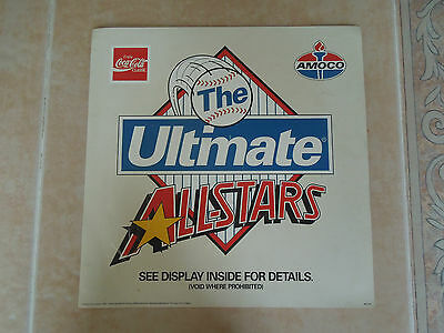 Coca Cola Classic * Amoco Gas * The Ultimate All-Stars Baseball Cards * Magnet