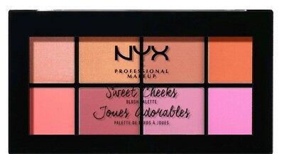 NYX PROFESSIONAL MAKEUPRouge Sweet Cheeks Blush Palette, SCBP01,32 g