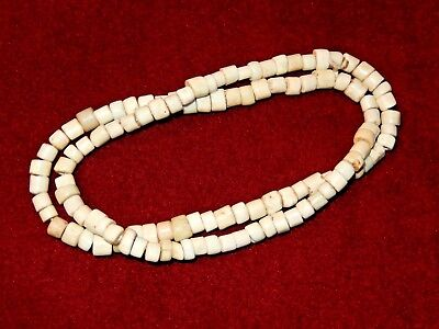 Nice Old ~ White ~ Cherokee ~ Padre Trade Beads ~ Tellico Site ~ Tennessee  A778