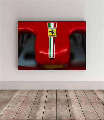 70x50 photo poster FERRARI F1 VETTEL Super Car wall art supercar enzo 18 43 gt