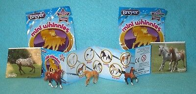 Breyer Mini Whinnies Surprise Series 1 Bella Morgan-Molly Foal-Sofie Drafter New