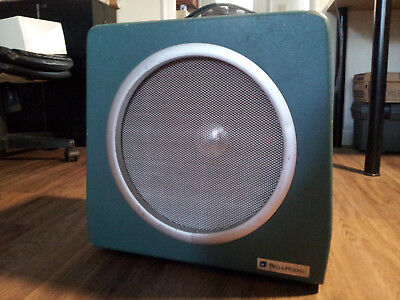 """BELL & HOWELL 12"""" Vintage Orchestricon FILM-O-SOUND Film Projector Speaker"""