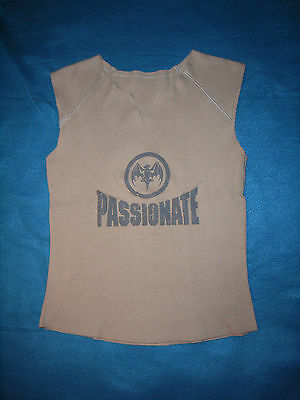 "BACARDI Top beige XS 32 ""Passionate"" Baumwolle"