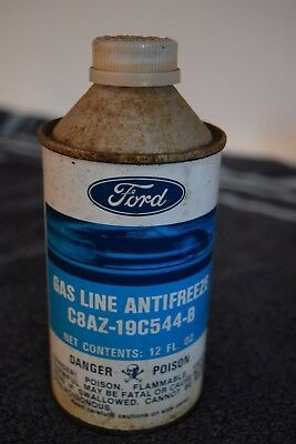 Ford Gas Line Antifreeze fluid can GT40 style can