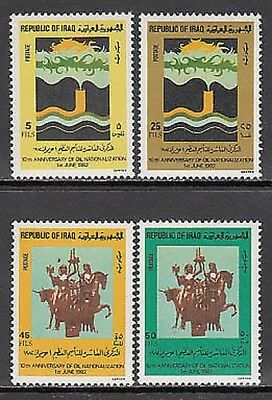 Iraq - Mail Yvert 1043/6 Mnh Oil
