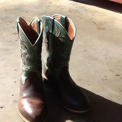 twisted x cowgirl boots girls size 4.5