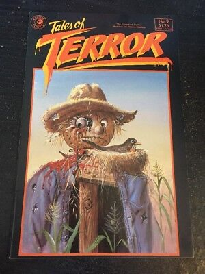 Tales Of Terror#2 Awesome Condition 8.0(1985) Eric Vincent Art!!
