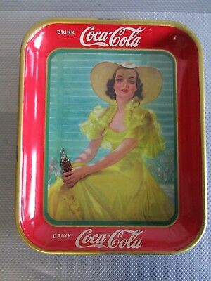 Original 1938 Coca Cola Tray Very Clean And Sharp ++ A Must See Item