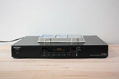 Sony EV-C25 NTSC Video 8 cassette recorder player plus tapes