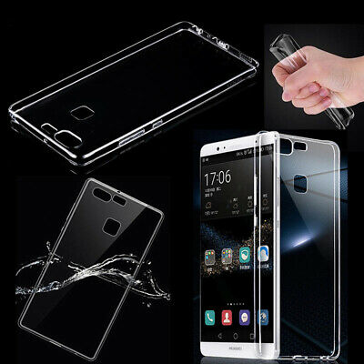 Ultra-Thin Silicone TPU Transparent Case Cover For Huawei P8 P10 P20 6X Nova 3