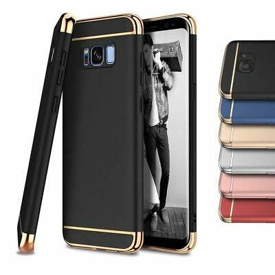 Luxury Shockproof Electroplate Hard Case Cover For Samsung Galaxy S8 S9 A8 J5 J7