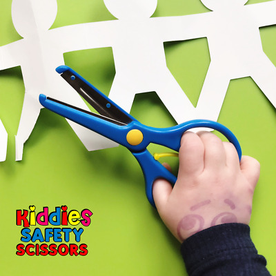 Kiddies Safety Scissors | Left & Right Handers | Perfect For Kids Craft | 3 Yrs+