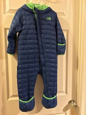 The North Face Infant Thermoball Bunting Snowsuit 18-24 month CRX9 Blue
