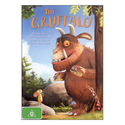 The Gruffalo DVD Brand New Region 4 Aust. - Robbie Coltrane - Gruffalo (voice)