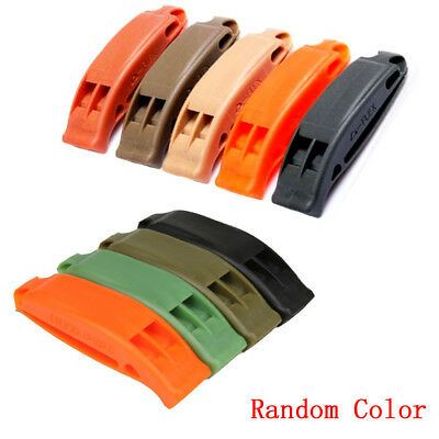 1* Double-frequency Emergency Survival Tool Outdoor Sports Competition Whistle