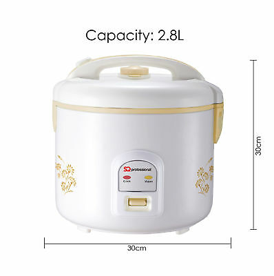 SQ Professional Deluxe Rice Cooker 2.8L 1000W